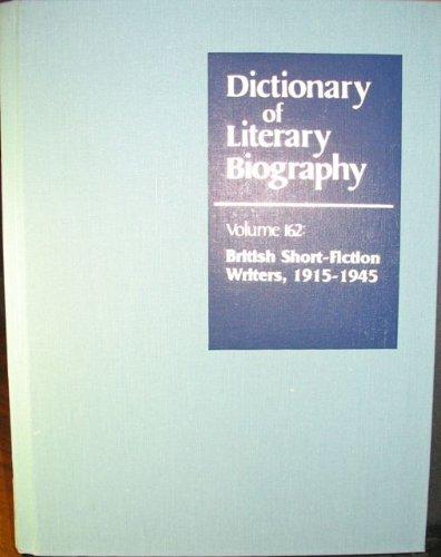 British Short Fiction Writers 1915-1945 (Dictionary of Literary Biography): John Rogers