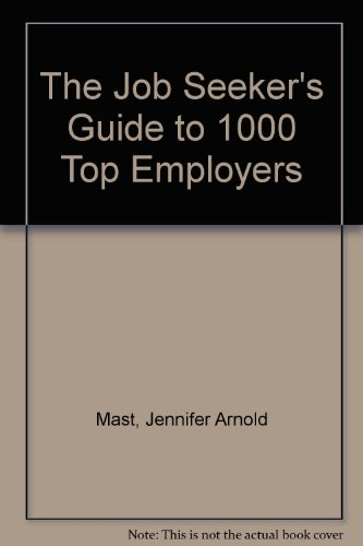 9780810394322: The Job Seeker's Guide to 1000 Top Employers