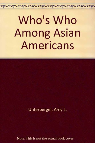 9780810394339: Who's Who Among Asian Americans 1994/95