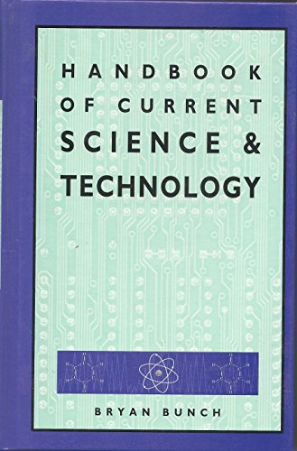 Handbook of Current Science and Technology