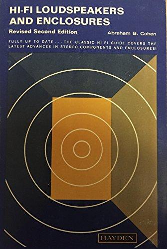 9780810407213: Hi-Fi Loudspeakers and Enclosures [2nd edition]