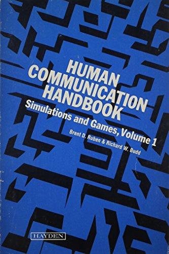 9780810455245: Human Communication Handbook: Simulations and Games