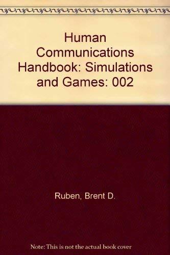 9780810457652: Human Communication Handbook: Simulations and Games