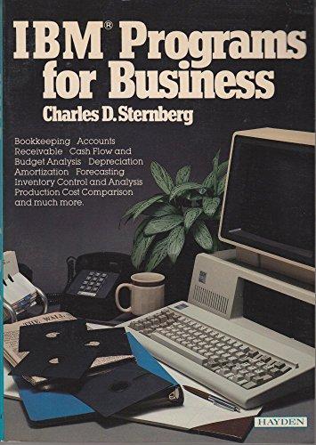 IBM Programs for Business: Sternberg, Charles D.