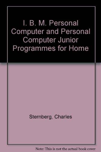 IBM programs for the home for the: Charles D Sternberg
