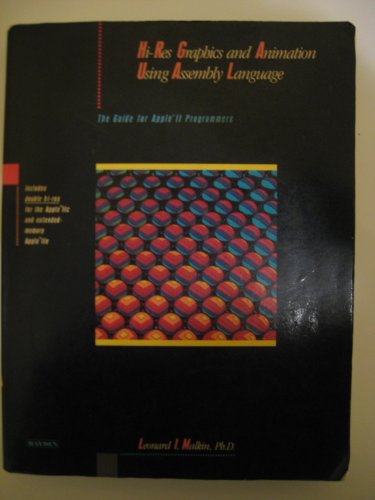 9780810467583: High-resolution Graphics and Animation Using Assembly Language