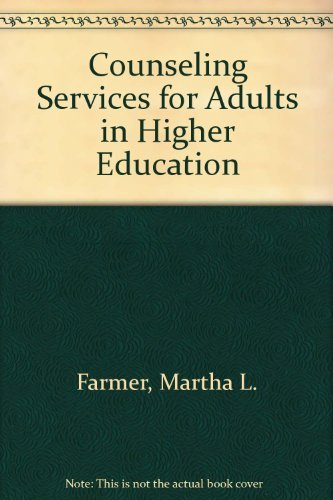 9780810804432: Counseling Services for Adults in Higher Education