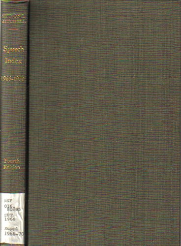Speech Index: An Index to Collections of: Roberta Briggs Sutton,