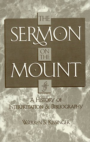 9780810808430: The Sermon on the Mount: A History of Interpretation and Bibliography