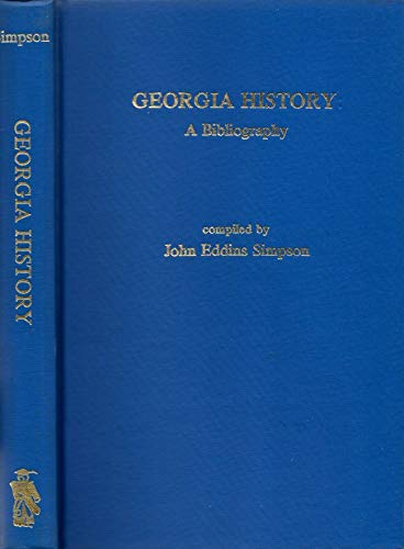 9780810809604: Georgia History: A Bibliography