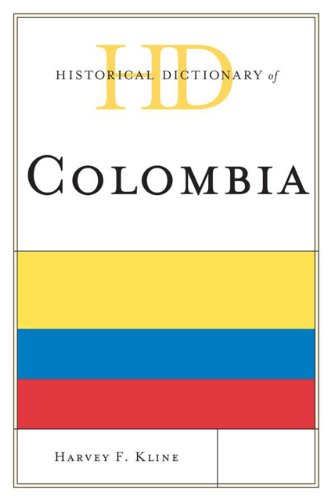 9780810809994: Historical Dictionary of Colombia (Historical Dictionaries of the Americas)