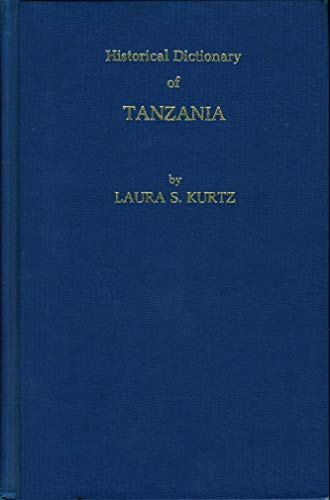 9780810811010: Historical Dictionary of Tanzania (African historical dictionaries)