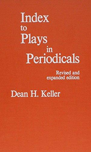 9780810812086: Index to Plays in Periodicals