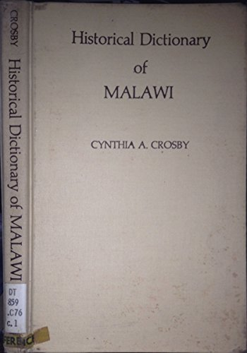 9780810812871: Historical Dictionary of Malawi (African historical dictionaries)