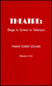 9780810813748: Theatre: Stage to Screen to Television (Two Volumes)