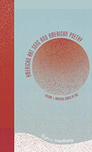 American Art Song & American Poetry, Vol. 1: Friedberg, Ruth C.