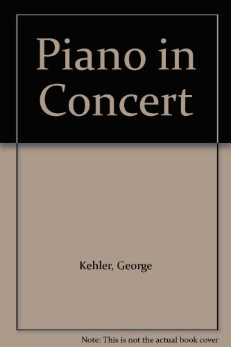 9780810814691: Piano in Concert
