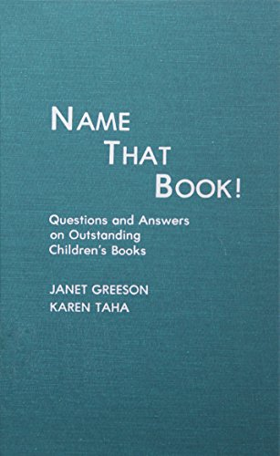 9780810819085: Name That Book! Questions and Answers on Outstanding Children's Books