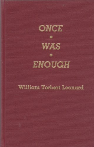 9780810819092: Once Was Enough