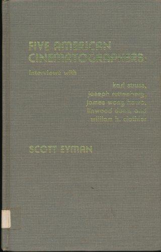 9780810819740: Five American Cinematographers