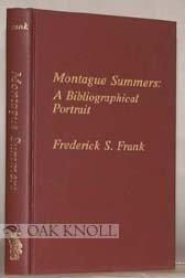 9780810821361: Montague Summers: A Bibliographical Portrait (Great Bibliographers Series)