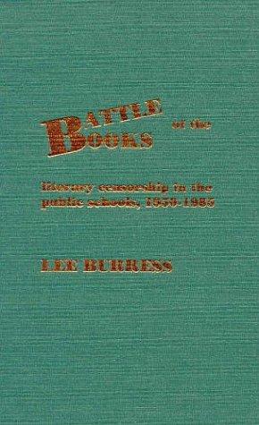 Battle of the Books: Burress, Lee