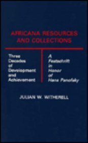 Africana Resources and Collections: Witherell, Julian W.