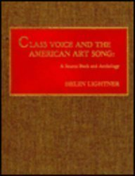 9780810823815: Class Voice and the American Art Song