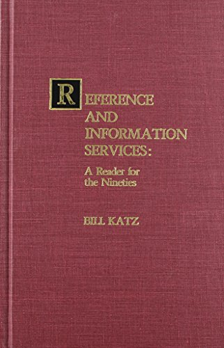 9780810824867: Reference and Information Services