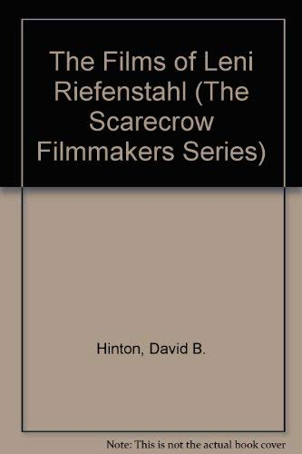 9780810825055: The Films of Leni Riefenstahl (Scarecrow Filmmakers Series)