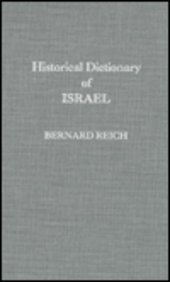 9780810825352: Historical Dictionary of Israel