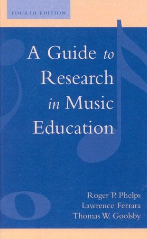 9780810825369: A Guide to Research in Music Education, Fourth Edition