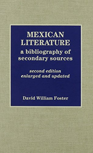 9780810825482: Mexican Literature: A Bibliography of Secondary Sources