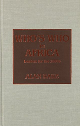 9780810825574: Who's Who in Africa