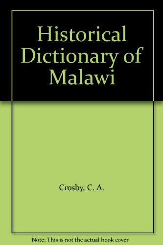 9780810826281: Historical Dictionary of Malawi