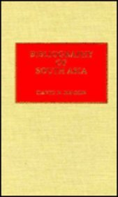 Bibliography of South Asia: David N. Nelson