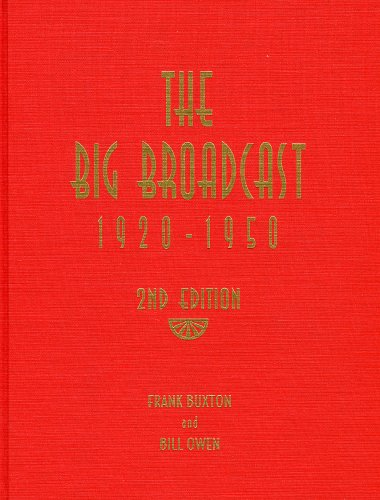 9780810829572: The Big Broadcast 1920-1950