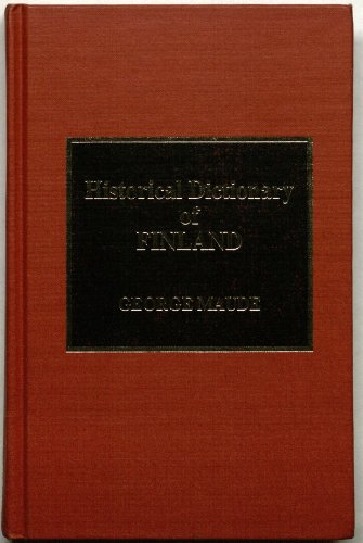 9780810829954: Historical Dictionary of Finland