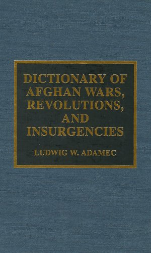 Dictionary of Afghan Wars, Revolutions, and Insurgencies: Ludwig W. Adamec