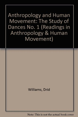 9780810832367: The Study of Dances (Anthropology and Human Movement, Volume 1)