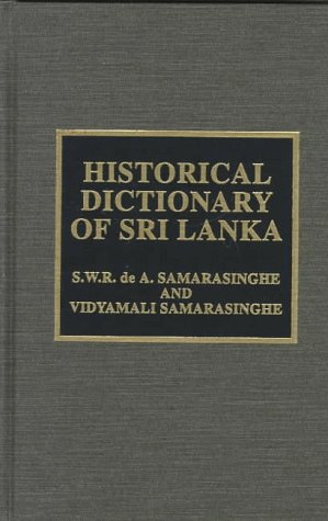 Historical Dictionary of Sri Lanka