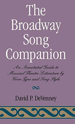 9780810833739: The Broadway Song Companion