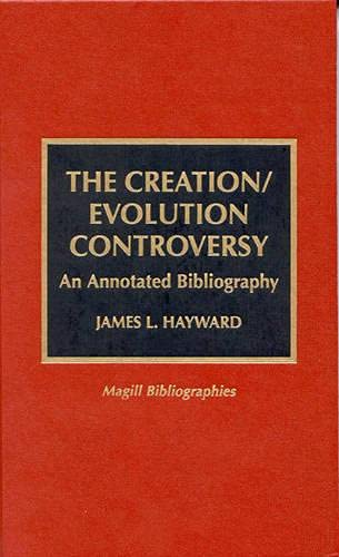 9780810833869: The Creation/Evolution Controversy
