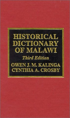 9780810834811: Historical Dictionary of Malawi (Historical Dictionaries of Africa)