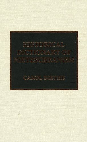 9780810835122: Historical Dictionary of Nietzscheanism
