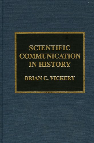 9780810835986: Scientific Communication in History