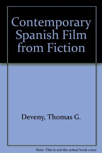 9780810836358: Contemporary Spanish Film from Fiction