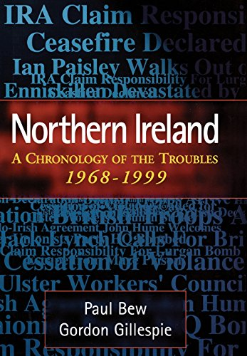 9780810837355: Northern Ireland: A Chronology of the Troubles, 1968-1999