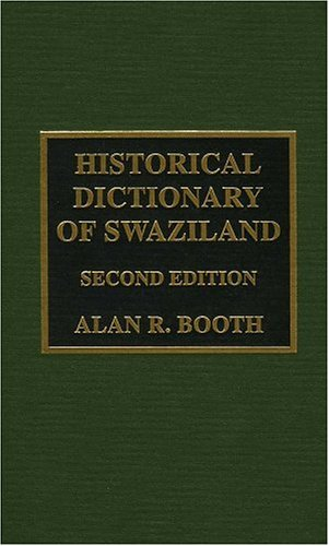 9780810837492: Historical Dictionary of Swaziland