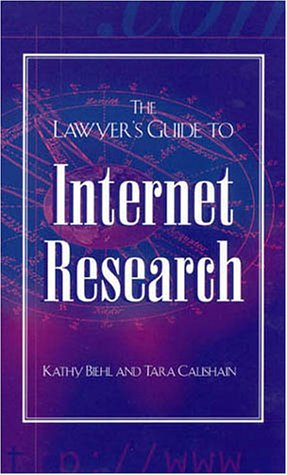 9780810838857: The Lawyer's Guide to Internet Research